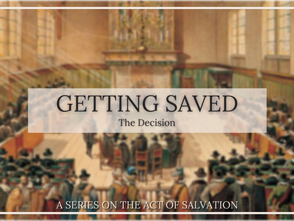 Getting Saved: The Decision