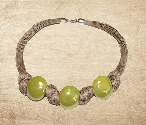 Collier Citron vert