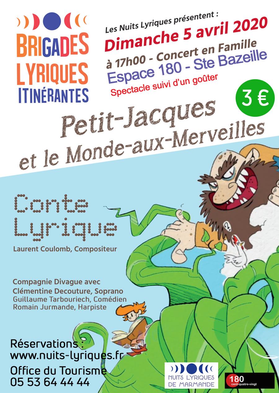 Affiche Brigades Lyriques 2020 Jacques 1