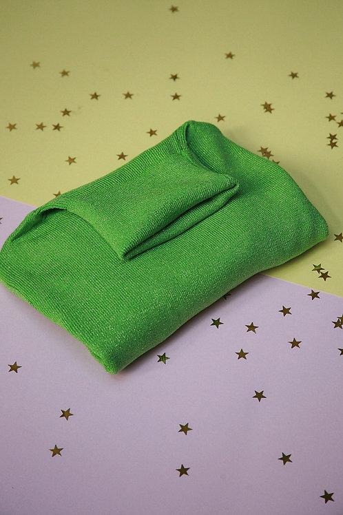 Glitter trui groen