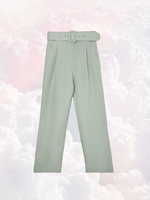 Pantalon mintgroen