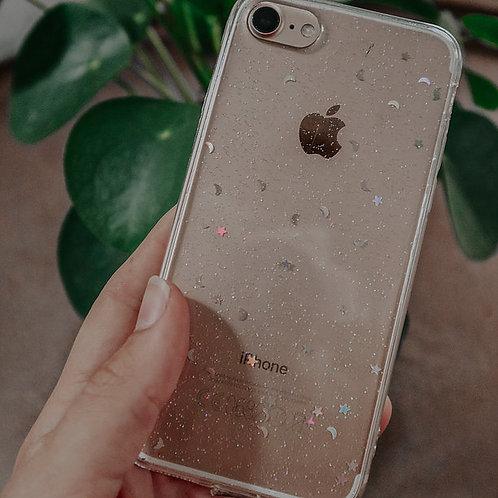 Glitter telefoonhoesje