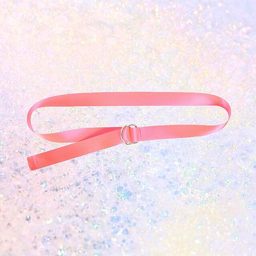 Neon roze riem
