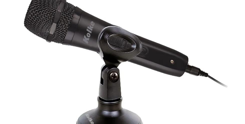 Micrófono Kolke Kpi-269 c/ Pedestal
