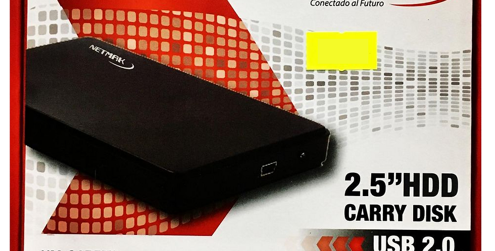 """Carry Disk 2.5"""" HDD USB 2.0"""