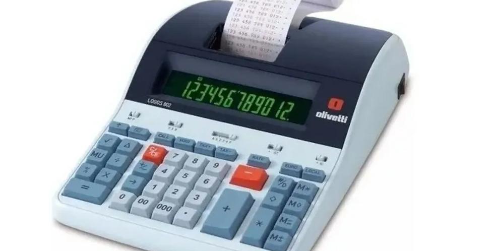 Calculadora Olivetti Logos 802