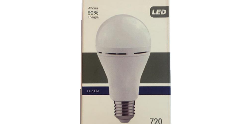 Lampara de emergencia LED 8W luz dia