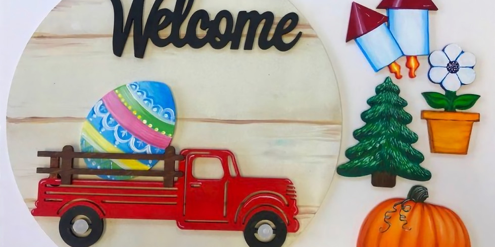 Truck for All Seasons Sign Workshop