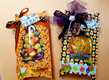 Fun Halloween Pillow Box