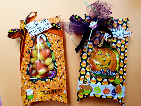 Fun Halloween Pillow Box