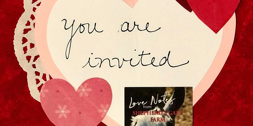 Love Notes From Shepherds Gate Farm