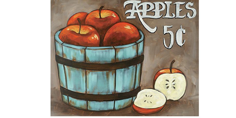 Heritage Apple Canvas Painting
