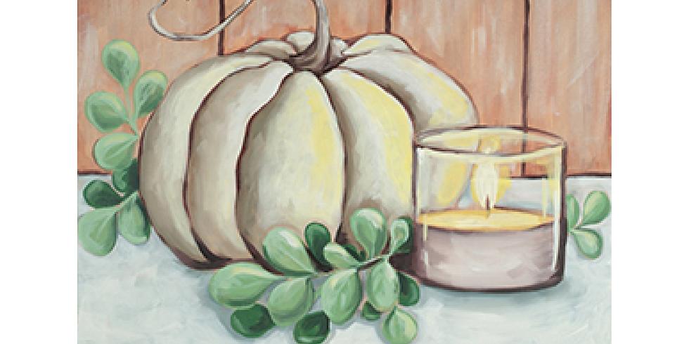 Farm House Fall Canvas