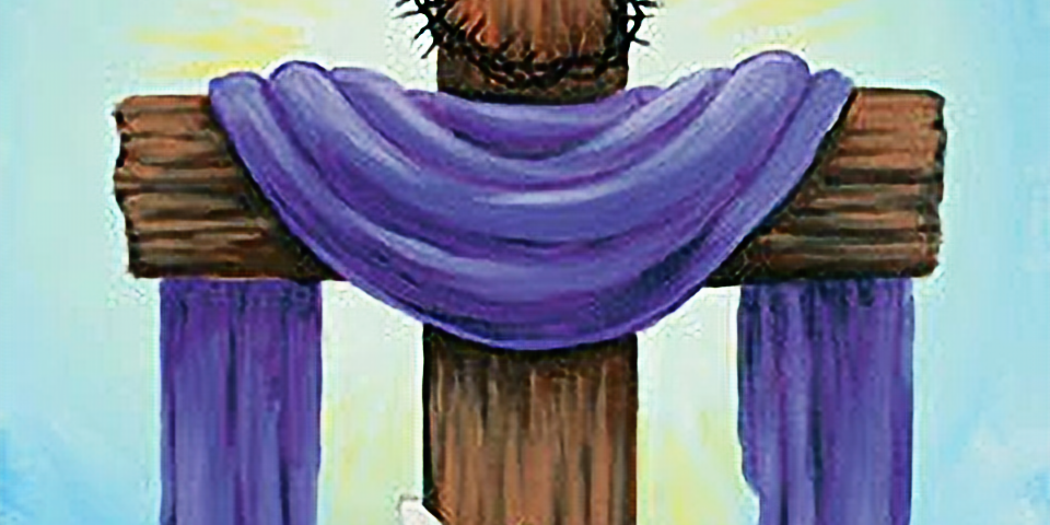 He is Risen Canvas Painting