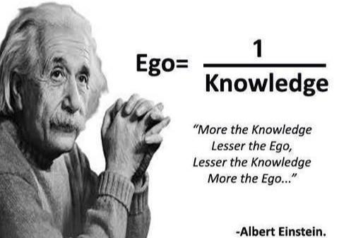 Einstein math ego