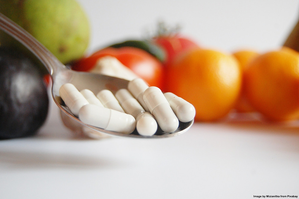 supplements can't substitute food