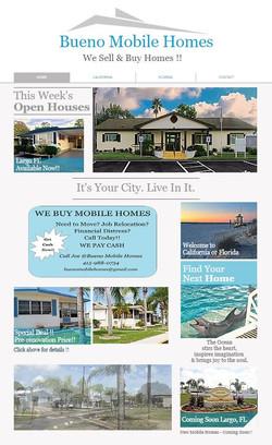 Bueno Mobile Homes Website