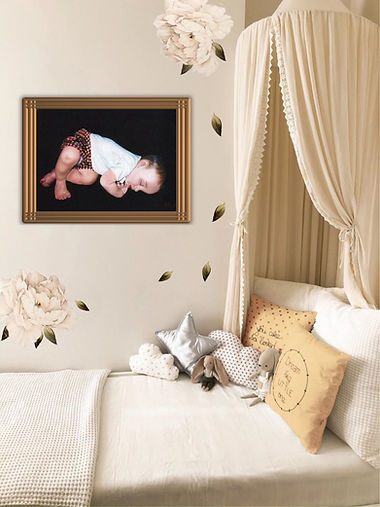 """Childs Room- """"Nathan Napping"""""""