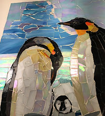 Penguin-Family Mosaic