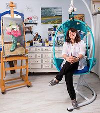 Petrina in her studio.jpg