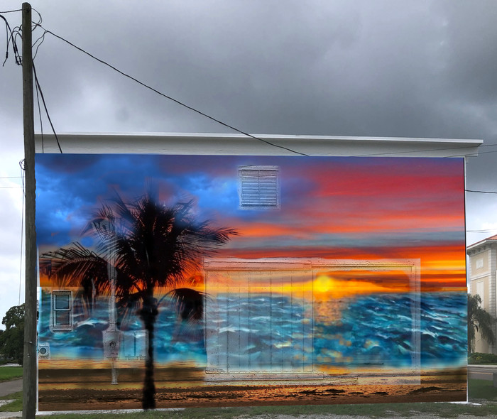 North Side Sunset Mural
