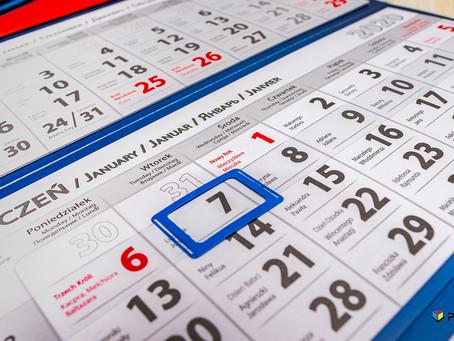 Personalizacja kalendarzy