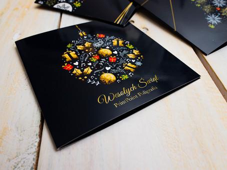 Karty Świąteczne z Twoim logo