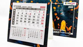 Kalendarz biurkowy PIRAMIDKA mini