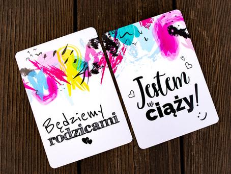 KARTY do zdjęć 🆕 NOWOŚĆ !!! 🆕