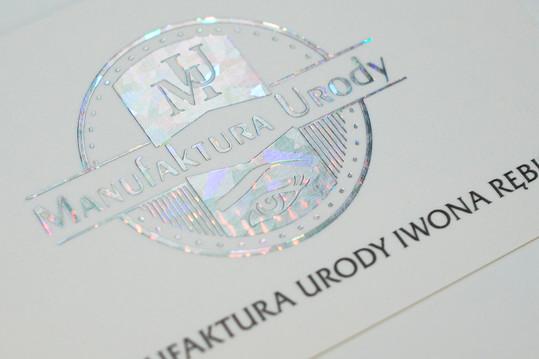 holograficzne logo