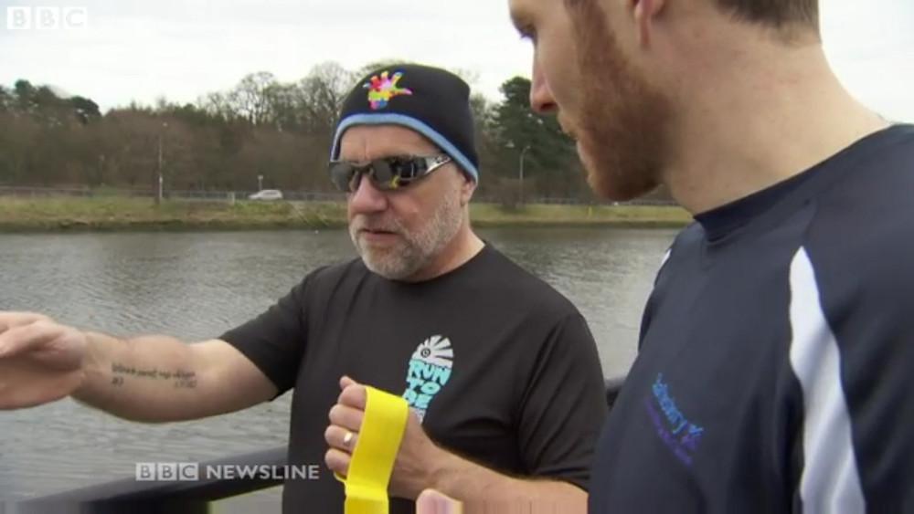 Run To Be member Tony Barclay on BBC NI