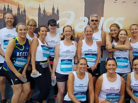 Run To Be at the Asics London 10k 2019