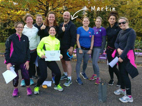 """""""I've just finished my second 0-5k course with Run To Be"""" - Martin, London cabbie"""