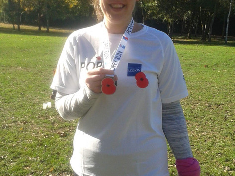 """""""It was very emotional as I couldn't believe that I really had gone from 0-5k"""" - Laura Lou"""