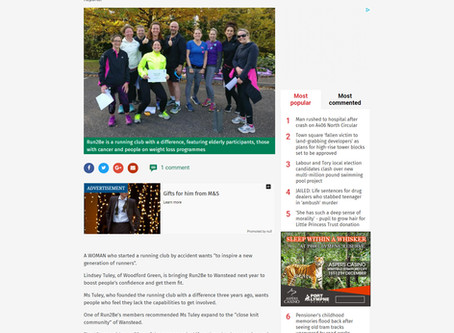 Runner who started club with a difference invites people of Wanstead to join 'inclusive, non-com