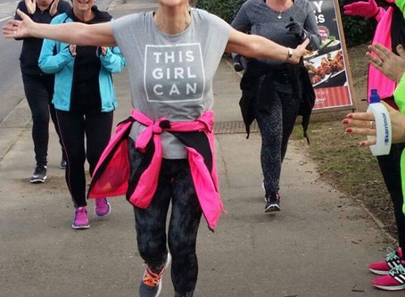 """""""Run To Be has changed my life. If I can run, anyone can do it..."""" - Debbie Aldridge, sigh"""