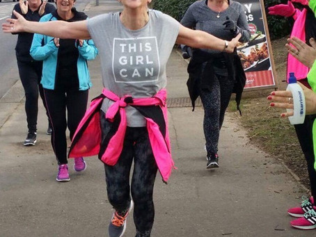"""Run To Be has changed my life. If I can run, anyone can do it..."" - Debbie Aldridge, sigh"