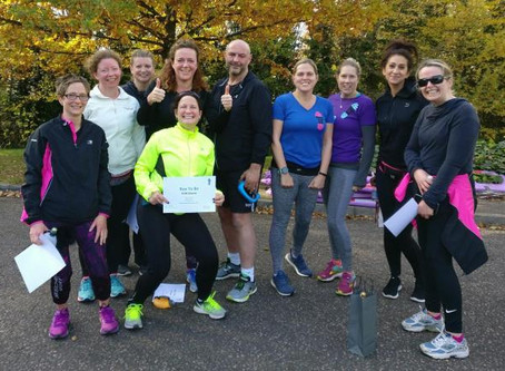 Can you run 5k? Then join us on the next Run Series or 5k Improvers running courses