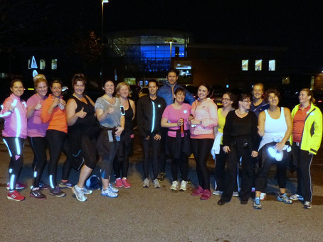 Run To Be's first introductory running session in Chingford was a huge success