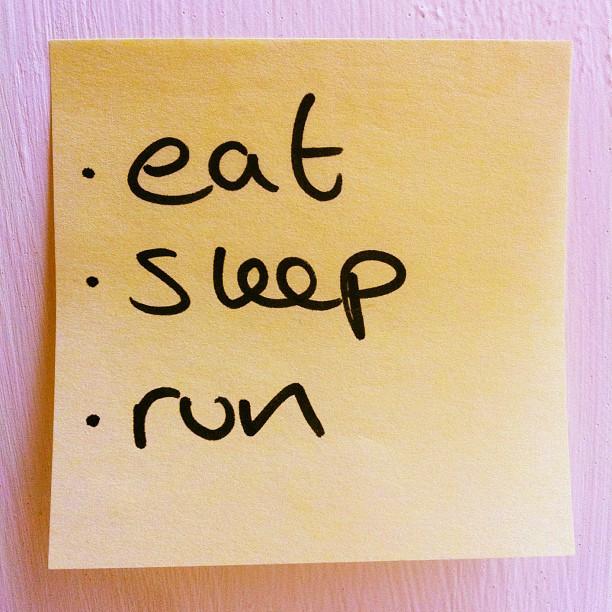 Eat. Sleep. Run