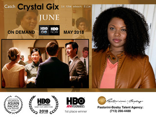 Catch Crystal in 'June' on HBO on Demand starting May 5th!