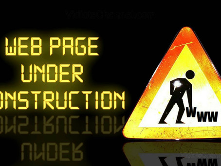 Our Site is Up and Running...But Still Under Construction