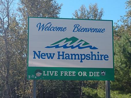 Vermont, New Hampshire, Maine