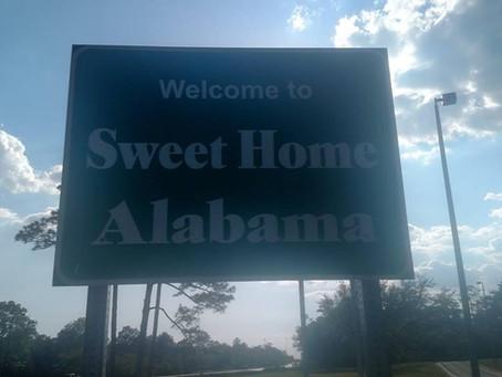 Into Alabama