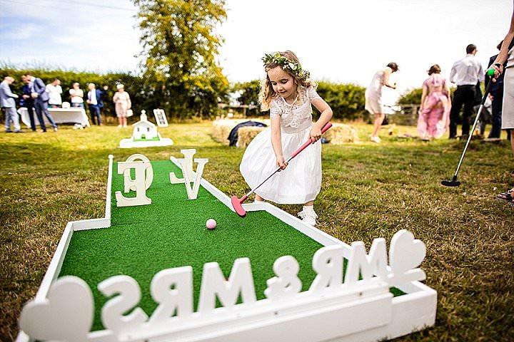 Lancashire Crazy Golf's Wedding themed Mini golf