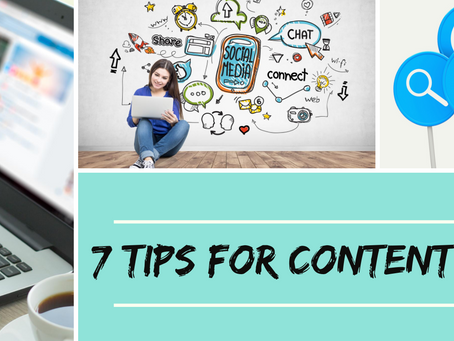 7 Tips on Creating Content