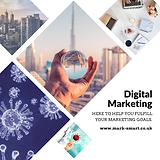 Digital marketing agency promo material