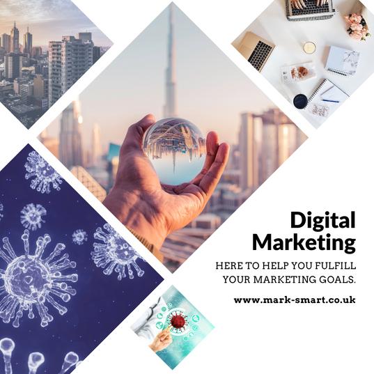 Digital marketing agency promo material