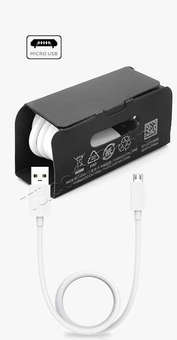 Micro USB kablo AA kalite kalın 1M. Beyaz