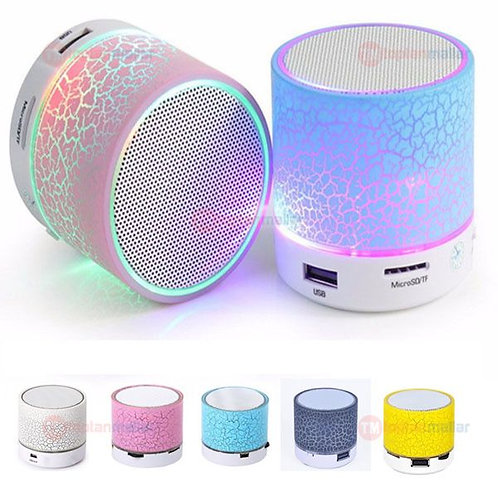 Bluetooth Mini Speaker Sd/Usb (Sarı)